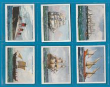 cigarette cards set The Story of Navigation , Queen Mary ,Cutty Sark